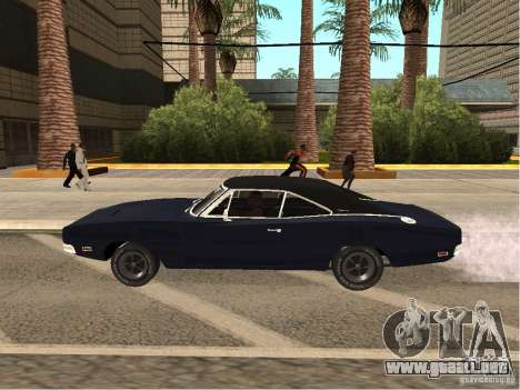 Dodge Charger RT Light Tuning para GTA San Andreas left