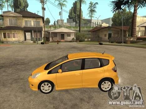 Honda Jazz (Fit) para GTA San Andreas left