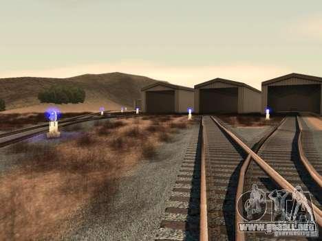 Luces de tráfico ferroviario 2 para GTA San Andreas quinta pantalla