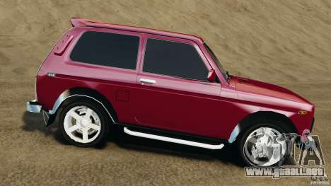 Vaz-21214 Niva (Lada 4 x 4) para GTA 4 left
