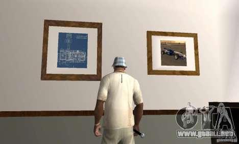 Nuevas casas de seguridad interiores para GTA San Andreas tercera pantalla