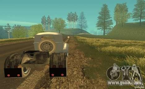ZIL 164 Tractor para la visión correcta GTA San Andreas