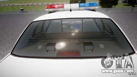 Ford Crown Victoria Karachi Traffic Police para GTA motor 4