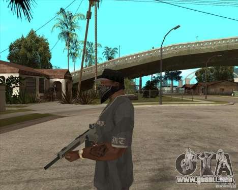 Atchisson assault shotgun (AA-12) para GTA San Andreas segunda pantalla
