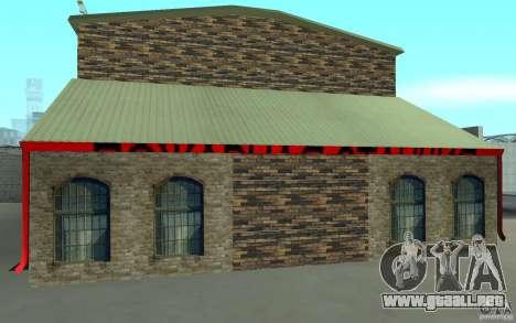 Parque de bomberos ruso en San Fierro para GTA San Andreas segunda pantalla