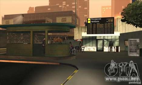 BUSmod para GTA San Andreas sexta pantalla