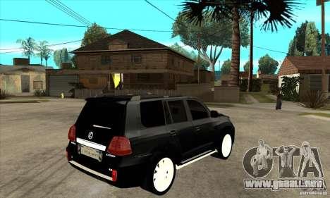 Lexus LX 570 2010 para la visión correcta GTA San Andreas