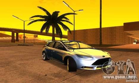 Ford Focus 3 para la visión correcta GTA San Andreas