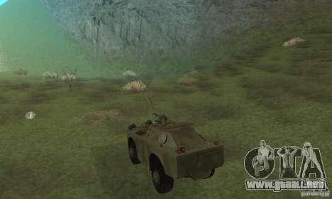 BRDM-1 piel 3 para la visión correcta GTA San Andreas