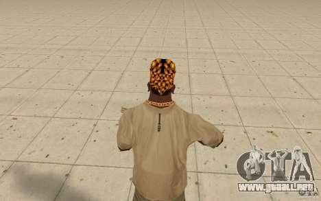Descendencia de Bandana para GTA San Andreas tercera pantalla