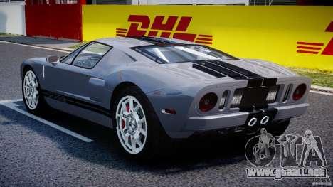 Ford GT 2006 v1.0 para GTA 4 visión correcta