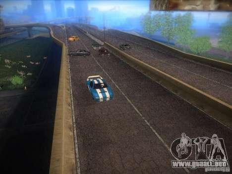 New Infernus para GTA San Andreas vista posterior izquierda