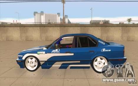 BMW E34 V8 para GTA San Andreas left