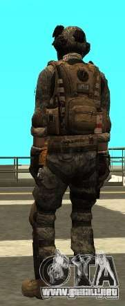 USA Army Special Forces (FIXED) para GTA San Andreas tercera pantalla