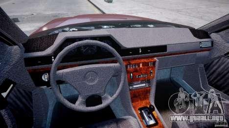 Mercedes-Benz W124 E500 1995 para GTA 4 visión correcta