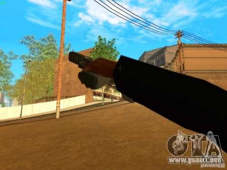 Five-Seven MW3 para GTA San Andreas quinta pantalla