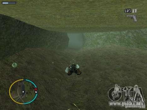 GTA IV HUD v2 by shama123 para GTA San Andreas séptima pantalla