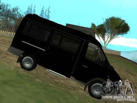 GAZ 2217 FSB para GTA San Andreas left