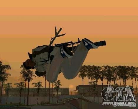Animaciones de reclutamiento de GTA IV para GTA San Andreas quinta pantalla