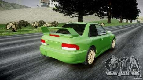 Subaru Impreza 22b 1998 (final) para GTA 4 vista lateral