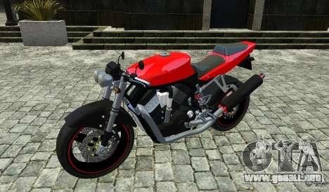 Suzuki Street Fighter Custom para GTA 4 vista hacia atrás