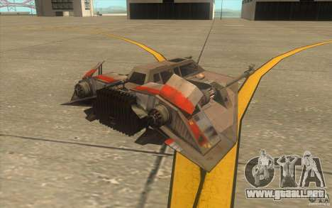 T-47 Snowspeeder para GTA San Andreas interior