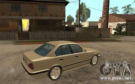 BMW 535i e34 AC Schnitzer para la visión correcta GTA San Andreas
