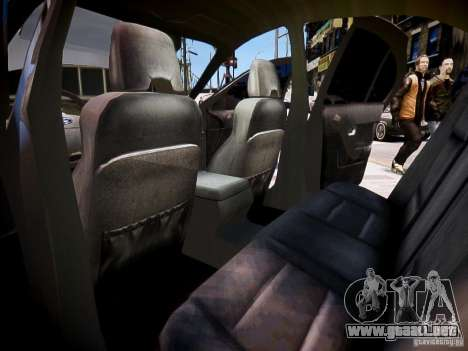 Ford Falcon XR-8 para GTA 4 vista interior