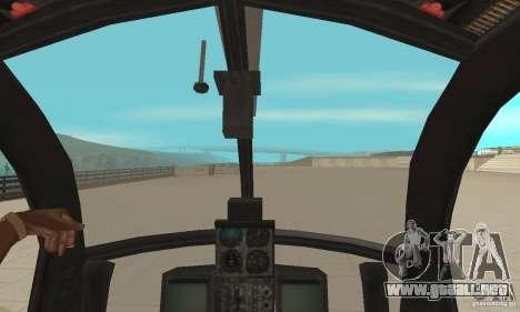 AH para GTA San Andreas vista hacia atrás