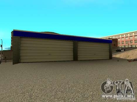 Garaje en San Fierro para GTA San Andreas tercera pantalla