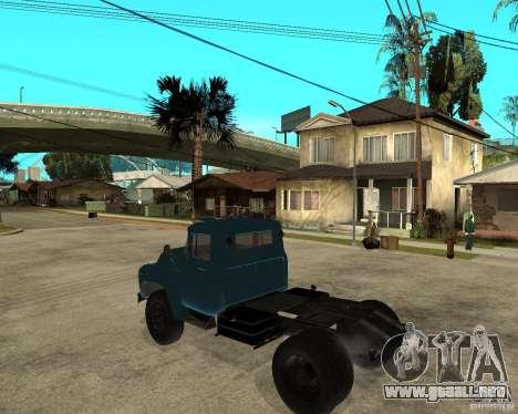 ZIL 130B1 para GTA San Andreas left