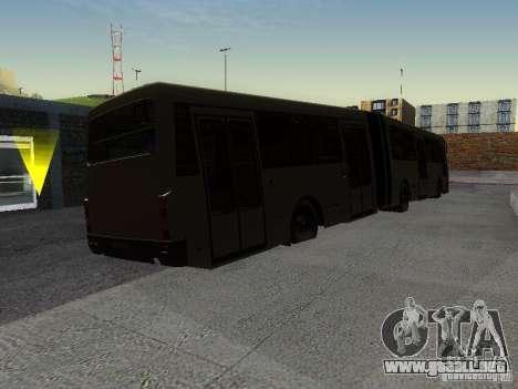 Laz-А291 para GTA San Andreas vista hacia atrás