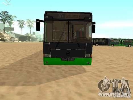 LIAZ 6212 para la visión correcta GTA San Andreas