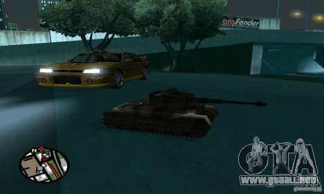 Vehículos RC para GTA San Andreas sexta pantalla