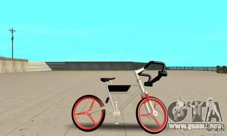 Wind Solar MT Bike para GTA San Andreas vista posterior izquierda
