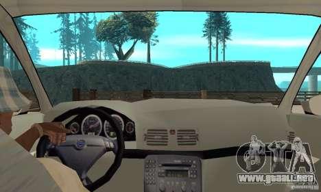 Volvo S80 1999 para la visión correcta GTA San Andreas