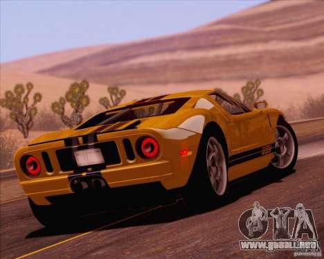 SA_NGGE ENBSeries v1.1 para GTA San Andreas octavo de pantalla