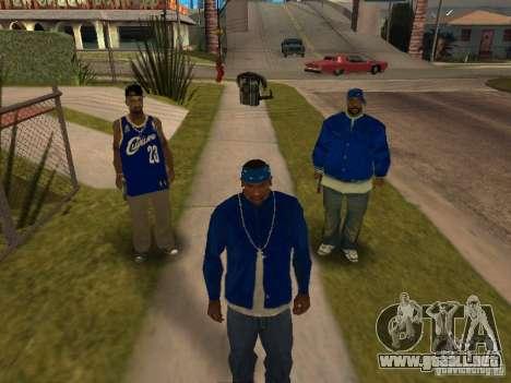 Piru Street Crips para GTA San Andreas