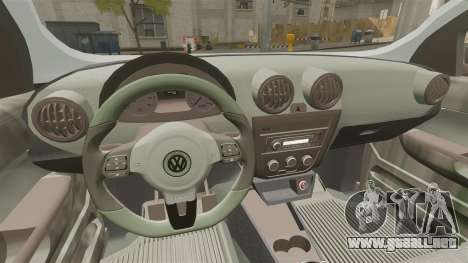 Volkswagen Saveiro Cross Edit para GTA 4 vista interior