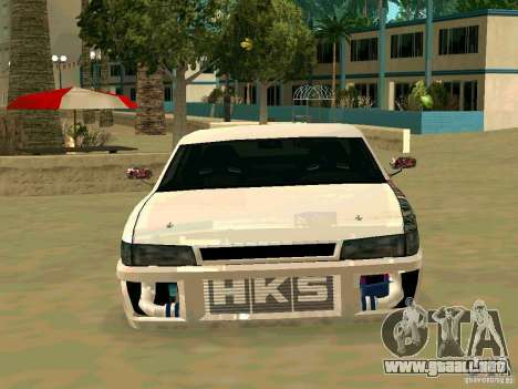 New Sultan v1.0 para la vista superior GTA San Andreas