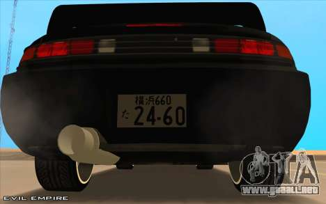 Nissan Silvia s14 Tuned Drift v0.1 para la visión correcta GTA San Andreas