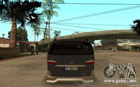 Hyundai Starex para la visión correcta GTA San Andreas
