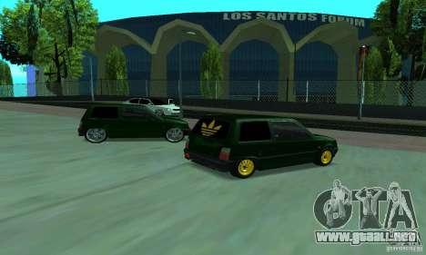Oka VAZ 1111 para la visión correcta GTA San Andreas