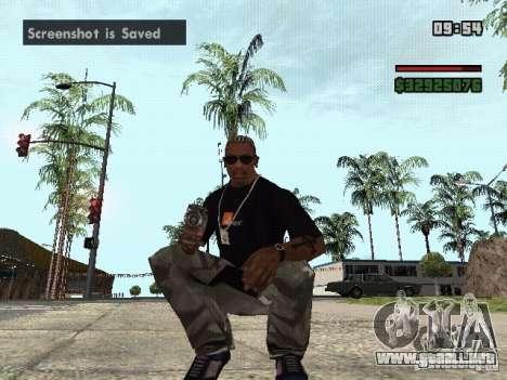 Lanzagranadas para GTA San Andreas segunda pantalla