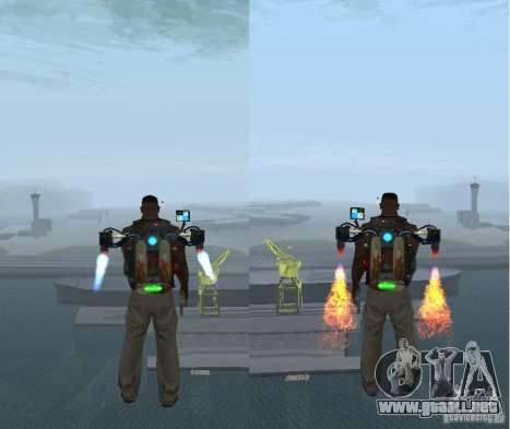 Overdose Effects v 1.4 para GTA San Andreas segunda pantalla