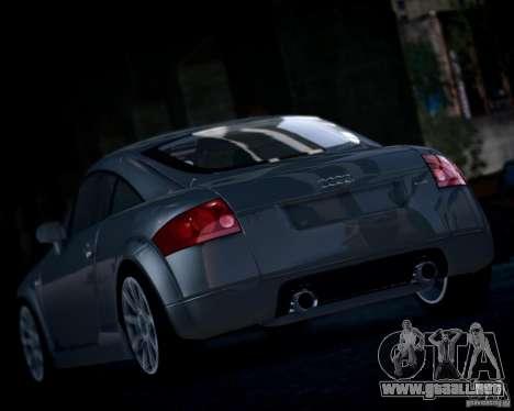 Audi TT 2004 para GTA 4 visión correcta