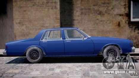 Chevrolet Impala 1983 [Final] para GTA 4 vista superior