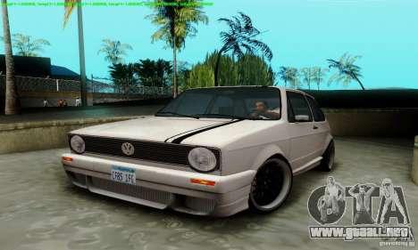 VolksWagen Golf LS para visión interna GTA San Andreas