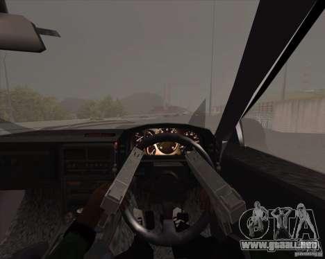 Mazda Savanna RX-7 FC3S para visión interna GTA San Andreas