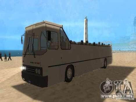 IKARUS 250 convertible para GTA San Andreas vista posterior izquierda